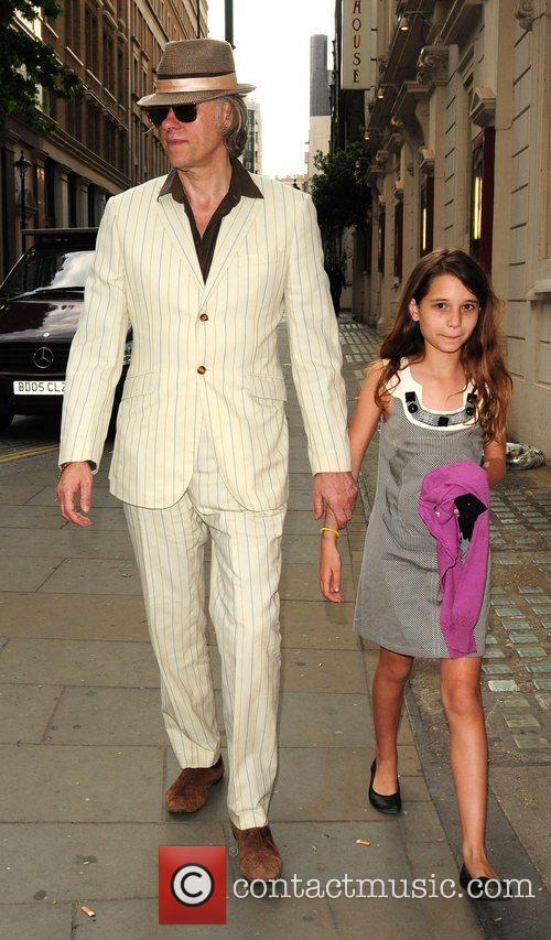 Bob Geldof and Tiger Lily 5