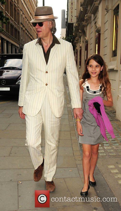 Bob Geldof and Tiger Lily 10