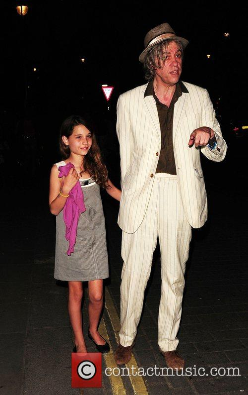 Bob Geldof and Tiger Lily 4