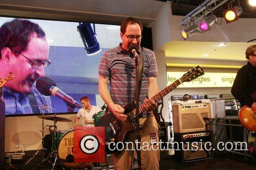 Perform live at HMV on Oxford Street.
