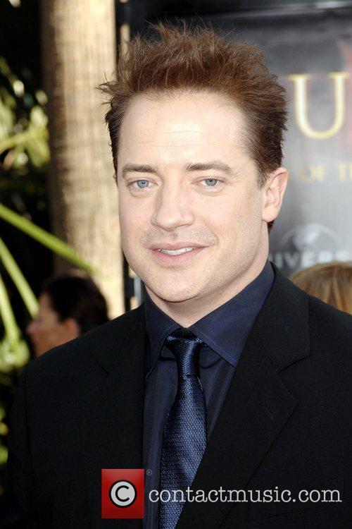 Brendan Fraser Los Angeles Premiere of 'The Mummy:...