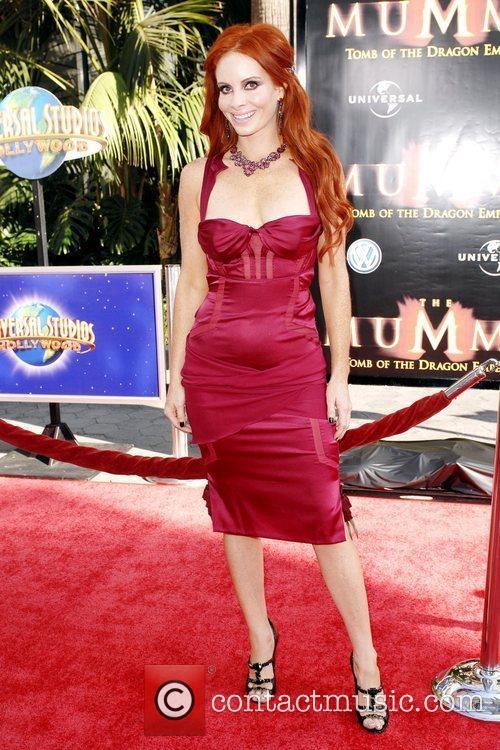 Phoebe Price Los Angeles Premiere of 'The Mummy:...