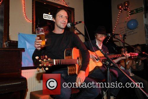 Performing at The Boogaloo in Highgate in aid...