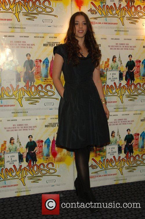 Olivia Thirlby VIP screening of 'The Wackness' London,...