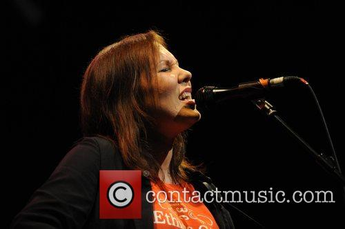 Thea Gilmore performing live in concert at The...