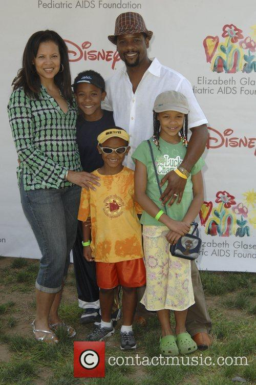 Blair Underwood and family,  Time for Heroes...