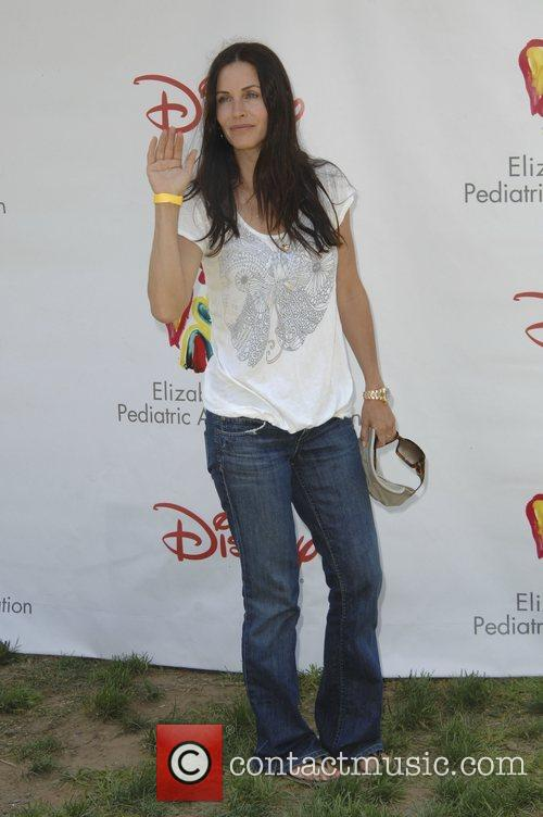 Courteney Cox,  Time for Heroes celebrity carnival...
