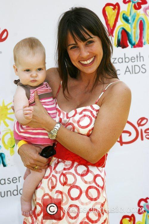 Constance Zimmer with her daughter Collette Time for...