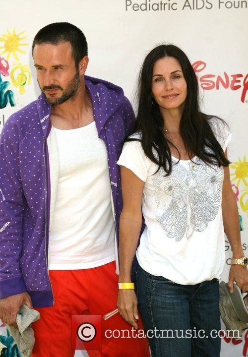Courtney Cox and David Arquette  Time for...