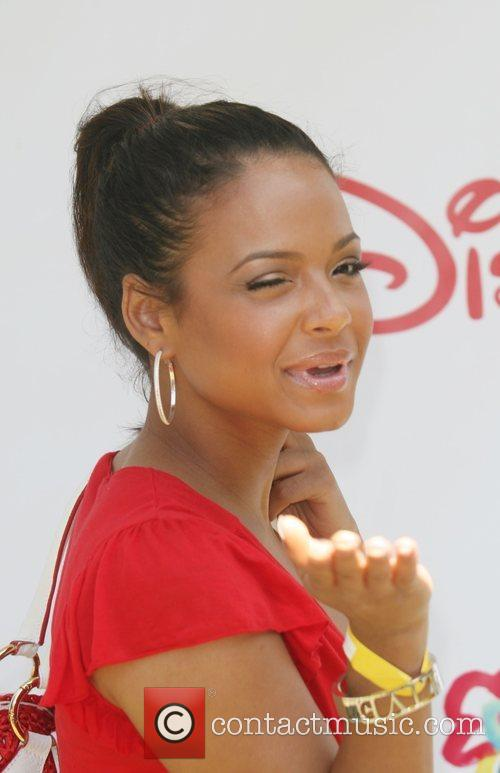 Christina Milian A Time For Heroes Celebrity Carnival...