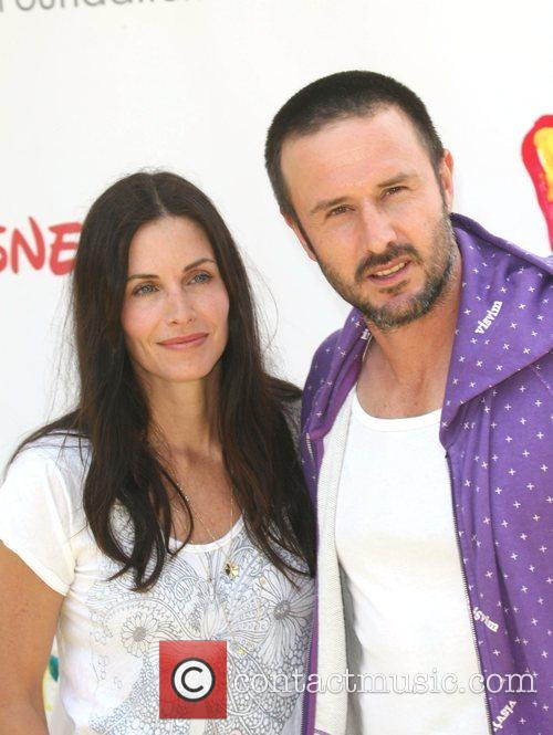 Courteney Cox and David Arquette Time for Heroes...