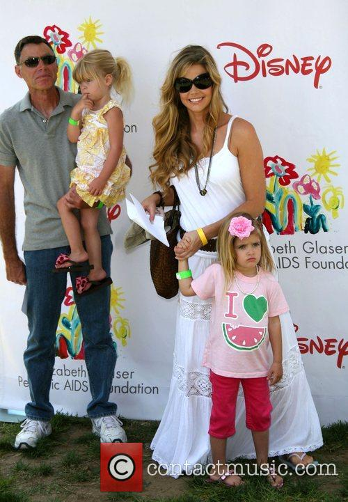 Denise Richards and family Time for Heroes celebrity...