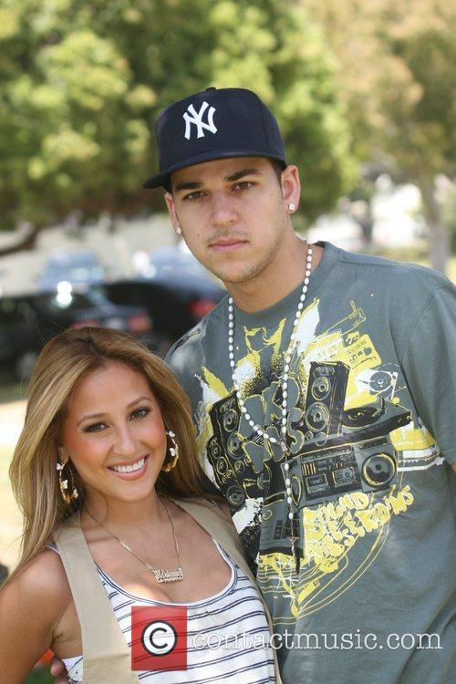 Adrienne Bailon and Robert Kardashian Time for Heroes...