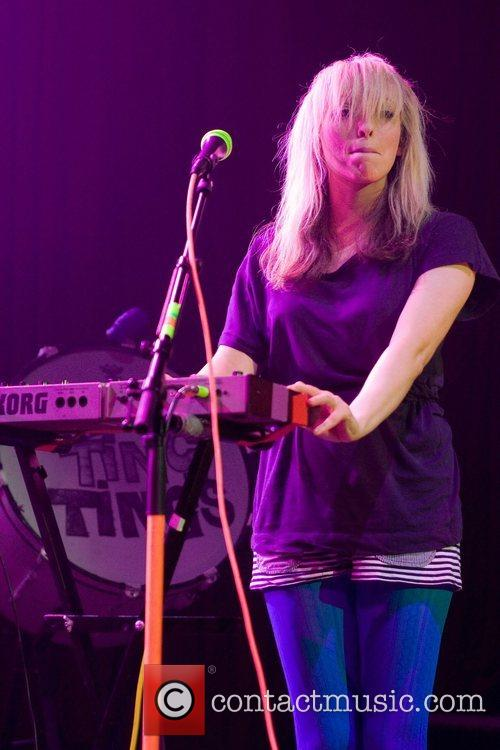The Ting Tings perform at the iTunes Festival...