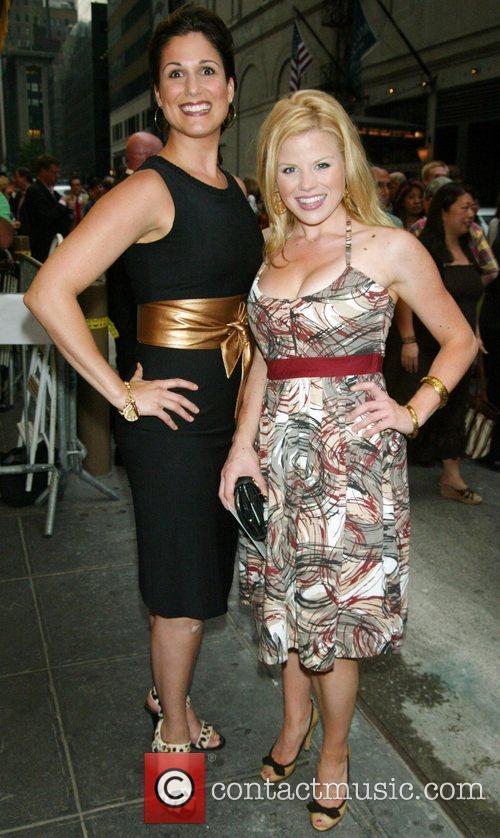Stephanie J. Block and Megan Hilty 2