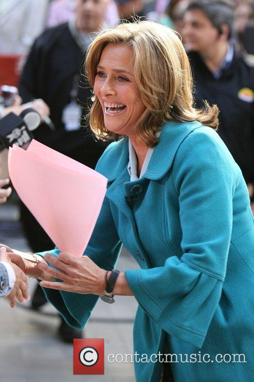 Meredith Vieira at the Rockefeller Plaza for the...