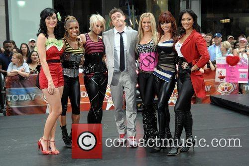 Katy Perry, Pussycat Dolls and Jesse McCartney perform...