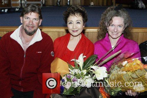 Matthew Doyle, Tokiko Kato and Sandy Evans Tokiko...