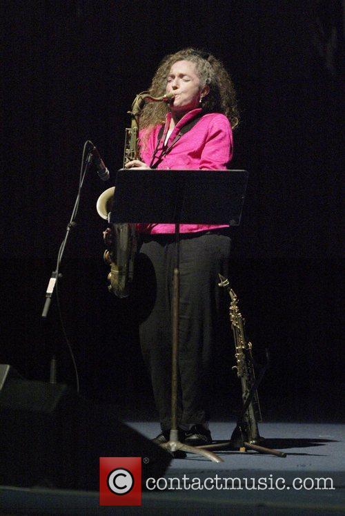Sandy Evans, saxophonist Tokiko Kato, Japanese singer and...