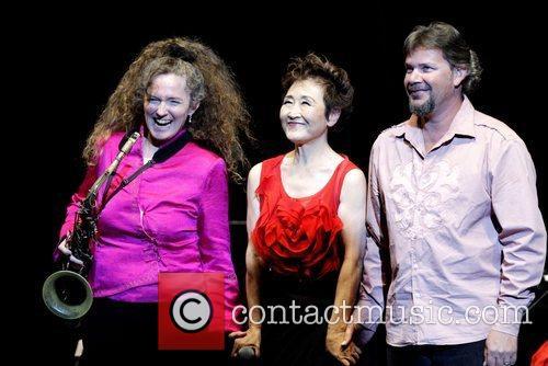 Sandy Evans, Tokiko Kato and Matthew Doyle Tokiko...