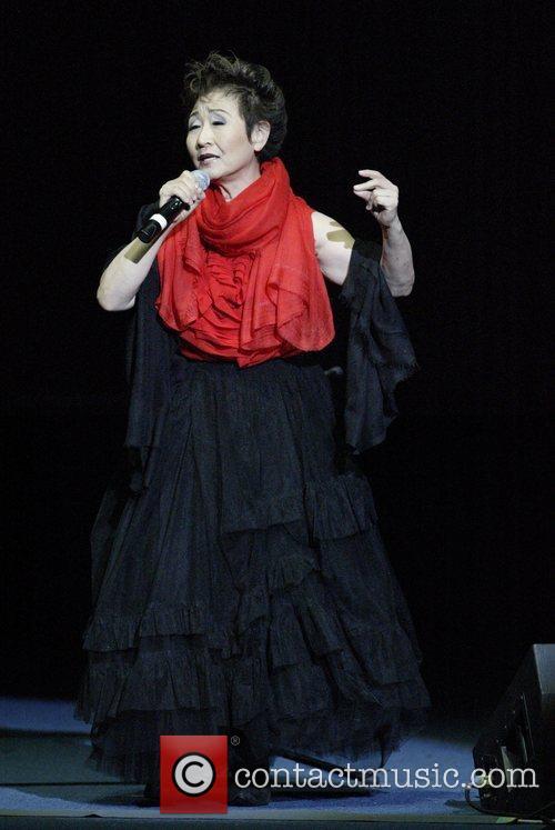 Tokiko Kato, Japanese singer and Goodwill Ambassador for...
