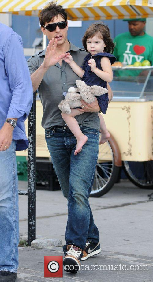 Tom Cruise and Daughter Suri Cruise 10