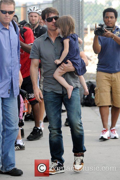 Tom Cruise and Daughter Suri Cruise 8