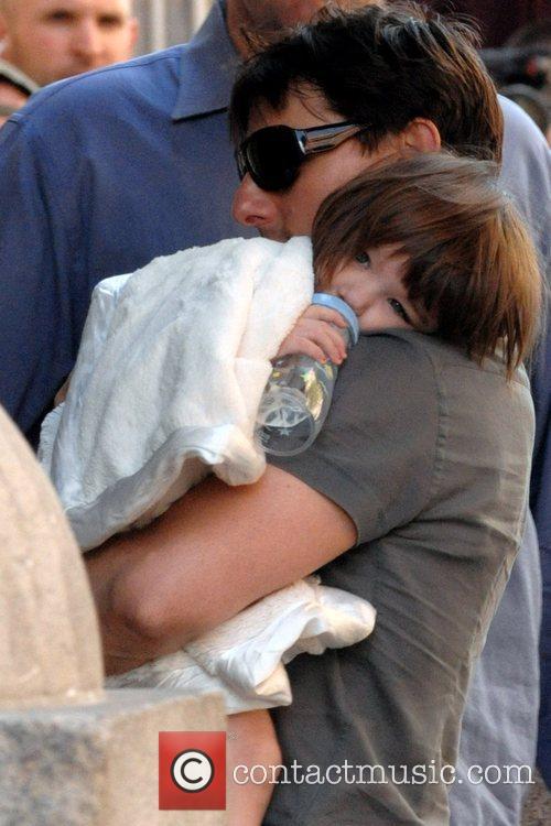 Tom Cruise and Daughter Suri Cruise 3