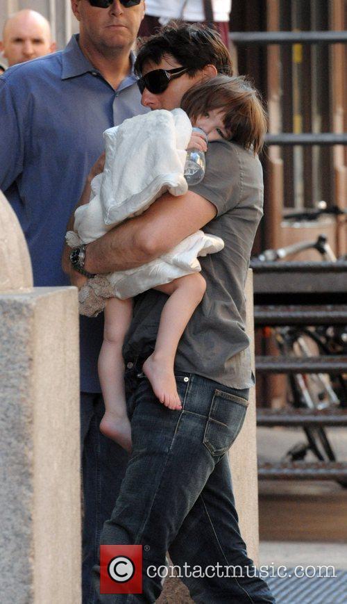 Tom Cruise and Daughter Suri Cruise 5