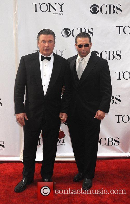 Alex Baldwin and Stephen Baldwin The 62nd Tony...