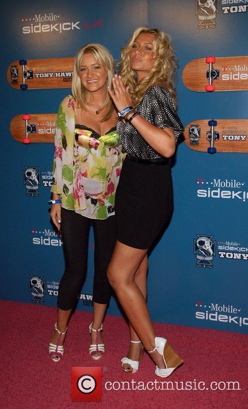 Amanda Michalka and Alyson Michalka The Launch Party...