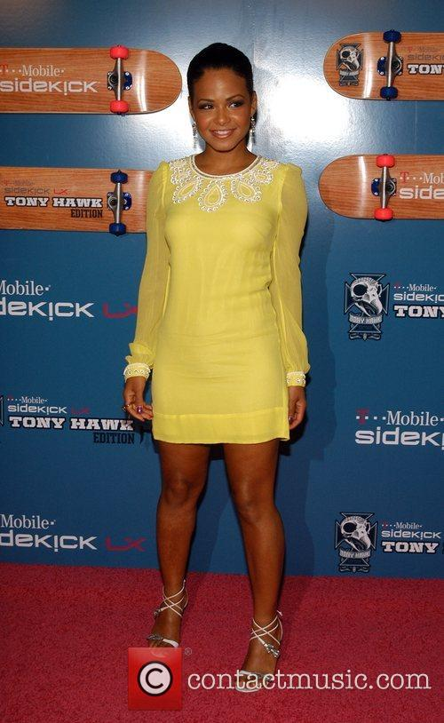 Christina Milian The Launch Party of the T-Mobile...
