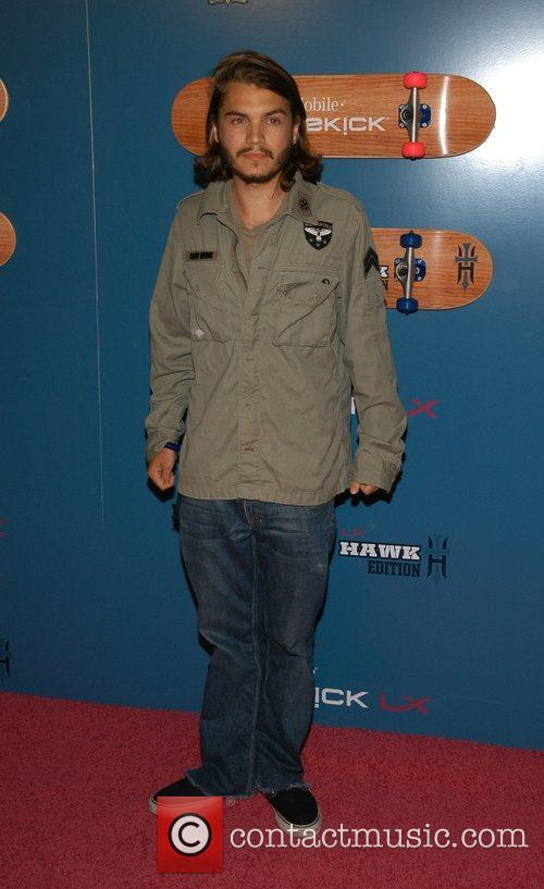 Emile Hirsch The Launch Party of the T-Mobile...