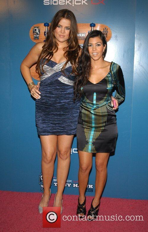 Khloe Kardashian and Kourtney Kardashian The Launch Party...