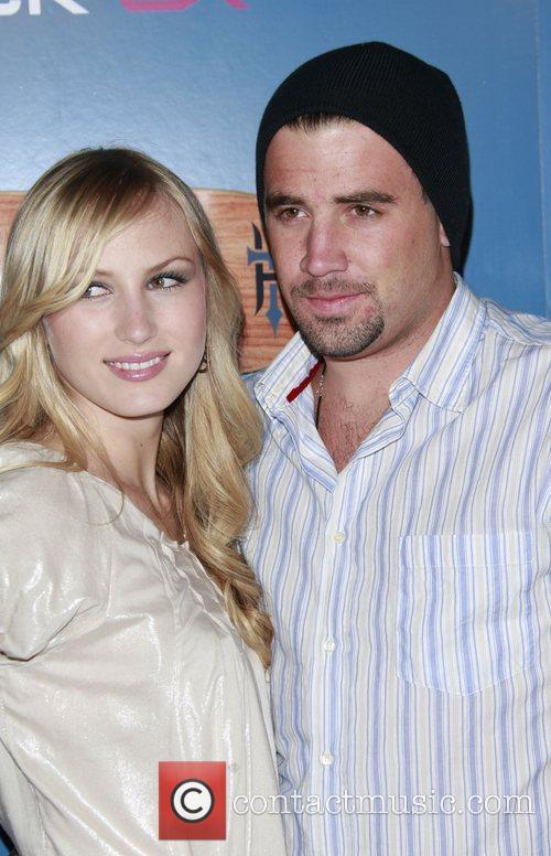 Jason Wahler and fiance Katja Decker-Sadowski The Launch...