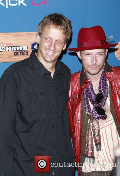 Tony Hawk and Scott Weiland The Launch Party...