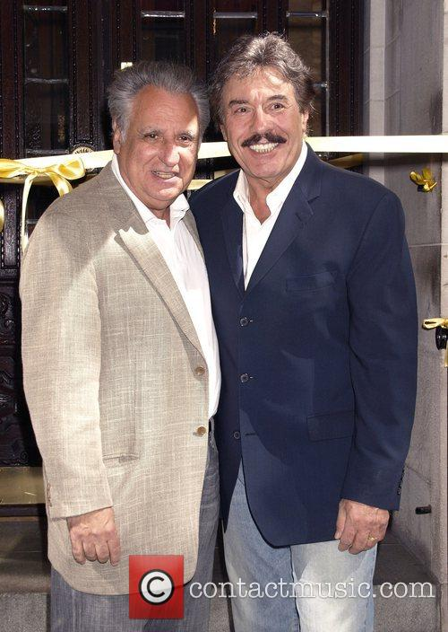 Tony Orlando is honoured with the worlds largest...