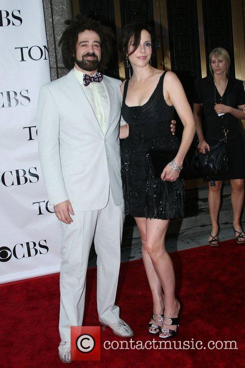 Adam Duritz and Mary-Louise Parker The 62nd Tony...