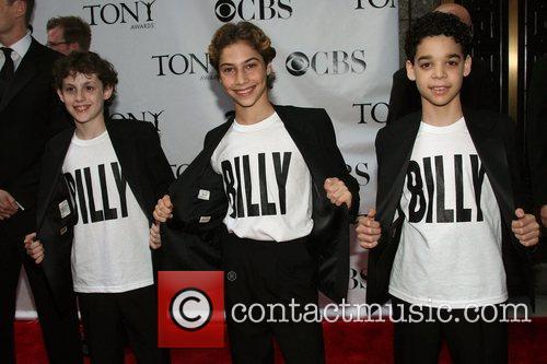 Cast of 'Billy Elliot' The 62nd Tony Awards...