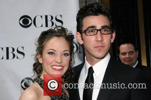 Laura Osnes and Max Crum The 62nd Tony...