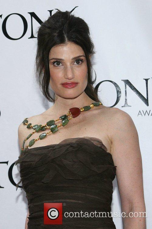 Idina Menzel The 62nd Tony Awards at the...