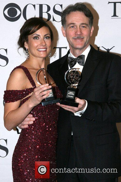Laura Benanti and Boyd Gaines The 62nd Tony...