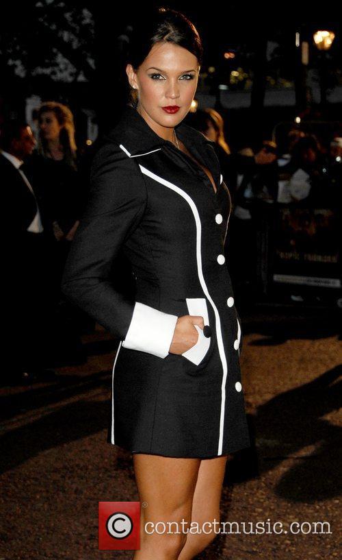 Danielle Lloyd, attends the UK Premiere of 'Tropic...