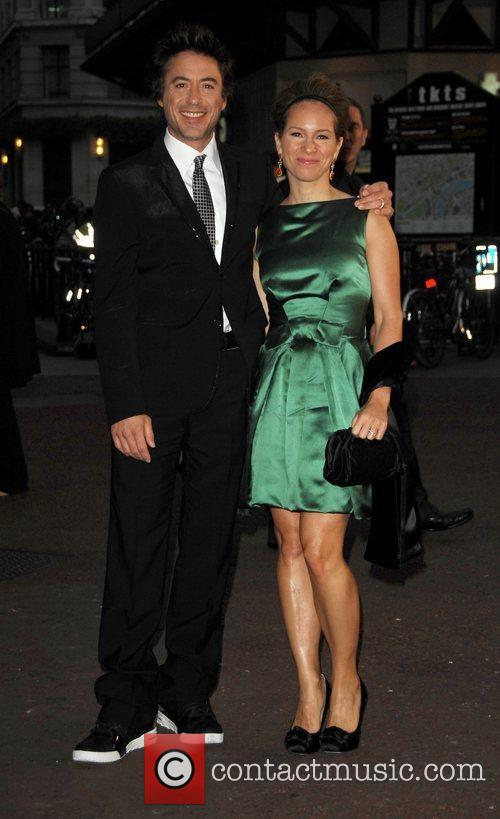 Robert Downey Jr and Susan Downey, attends the...
