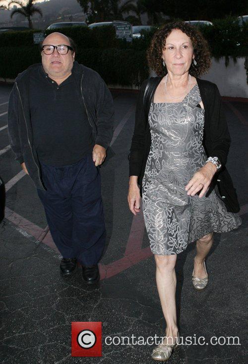Danny DeVito and Rhea Perlman at Tra Di Noi Resaurant in Cross Creek 12