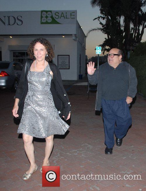 Danny DeVito and Rhea Perlman at Tra Di Noi Resaurant in Cross Creek 15