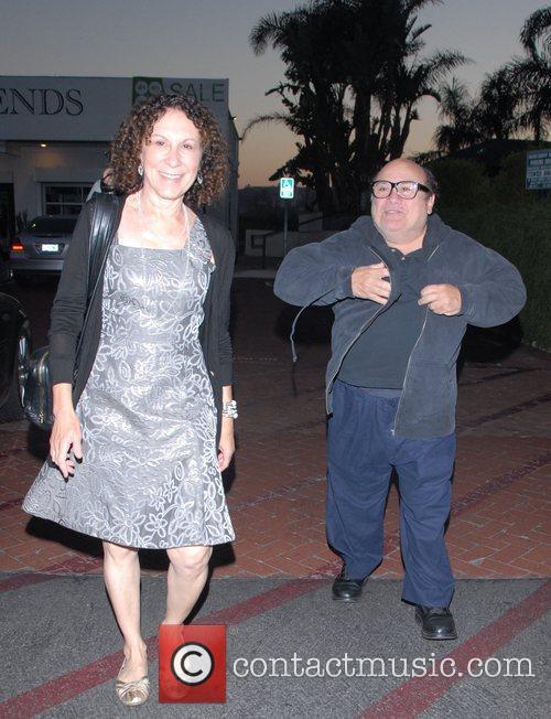 Danny DeVito and Rhea Perlman at Tra Di Noi Resaurant in Cross Creek 19
