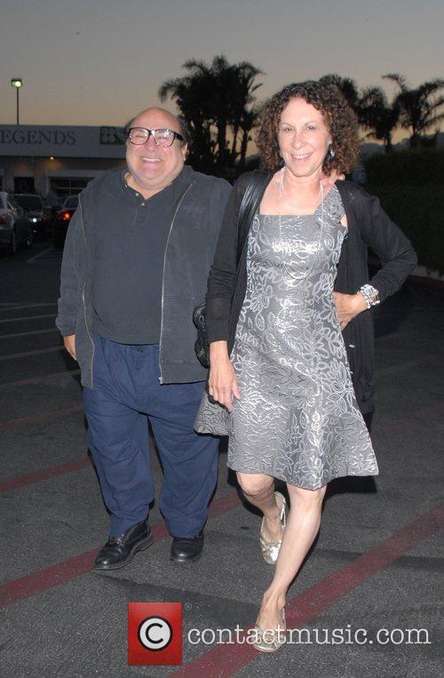 Danny DeVito and Rhea Perlman at Tra Di Noi Resaurant in Cross Creek 16