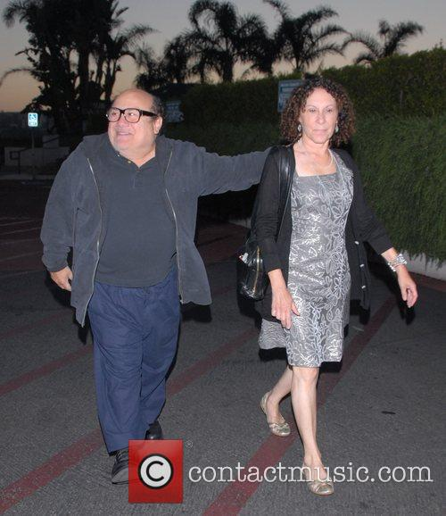 Danny DeVito and Rhea Perlman at Tra Di Noi Resaurant in Cross Creek 14