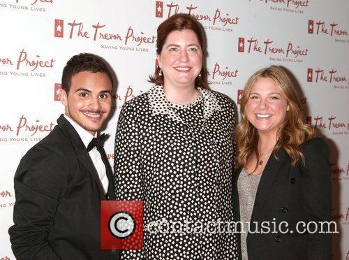 Adamo Ruggiero, Sarah Tomassi Lindman and Lauren Collins...